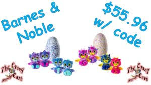 Barnes And Noble Coupon Code Free Shipping Barnes U0026 Noble Hatchimal Surprise 56