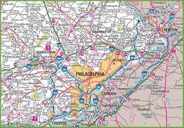 Chester Pa Map Maps Directions Visit Philadelphia Visitphillycom Philadelphia