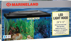 how to make fish tank decorations at home amazon com marineland led light hood 20 inch by 10 inch