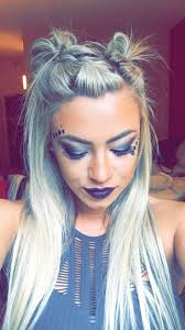 best 25 rave hair ideas on pinterest rave makeup festival hair
