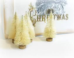 miniature bottle brush trees 1 5 inch mini sisal trees