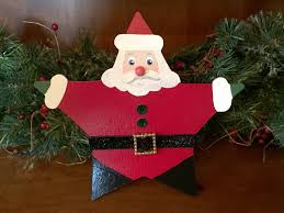santa tree topper barker ornaments