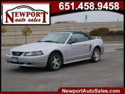 2004 white mustang convertible used ford mustang for sale in minneapolis mn cars com