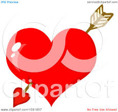 cupid heart clipart clipground