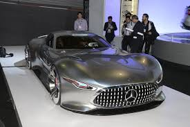 mercedes benz amg vision gran turismo looks badass live as well