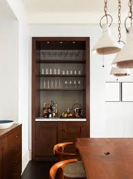 Built In Cabinets In Dining Room by Home Bar Ideas Freshome