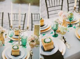 Emerald Home Decor Emerald Green U0026 Gold Engagement Party Inspiration Every Last Detail