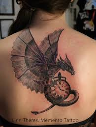 3d dragon tatoo best 3d winged dragon tattoo on upperback photos pictures and
