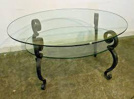 Vintage Glass Top Coffee Table Displaying Photos Of Vintage Glass Top Coffee Tables View 4 Of 20