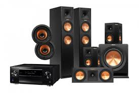 pioneer home theater systems klipsch reference premiere 260f dolby atmos 5 1 2 channel speaker