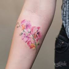 best 25 orchid flower tattoos ideas on pinterest blue orchid
