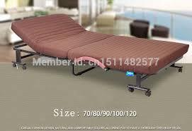 Tempat Tidur Besi Lipat gratis pengiriman gratis penjualan pabrik spons kasur baja rangka