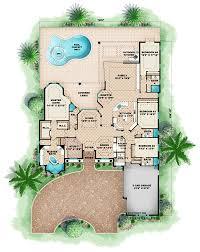 mediterranean floor plans house plan 60416 at familyhomeplans com