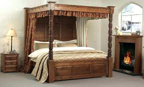 4 poster king bed frame image of four poster bed canopy style 4