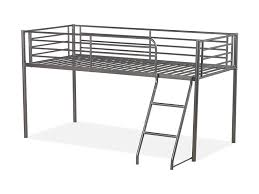 Bunk Beds  Full Size Metal Loft Bed With Desk Loft Bed With - Metal bunk bed with desk