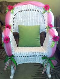 baby shower chairs baby shower wicker chair furniture ideas