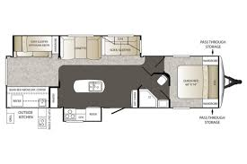 Outback Campers Floor Plans 2015 Keystone Outback 323bh