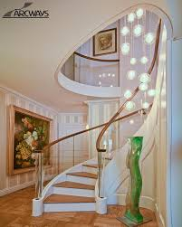 Glass Stair Handrail Glass Panel Staircase Glass Curved Staircase Glass Spiral