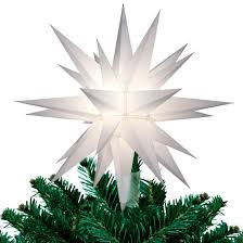 lighted tree topper frontgate