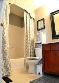 diy swag curtains stylish shower curtain and long curtain rod ceiling shower shower curtain with valance