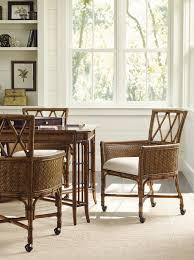 Leather Game Table Chairs Bali Hai Tarpon Cove Game Chair Lexington Home Brands