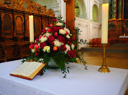 Wedding Flowers Church Free Images Green Red Church Wedding Flowers Aisle Roses