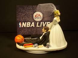 basketball cake toppers nba live 15 basketball wedding cake topper and groom