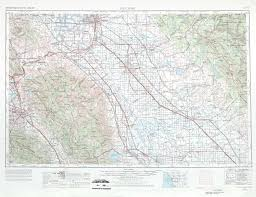 Western Colorado Map by San Jose Topographic Maps Ca Usgs Topo Quad 37120a1 At 1