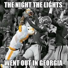 Tennessee Football Memes - tn vs ga 34 31 orange white pinterest tennessee football