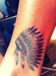 indian headdress tattoo on ribs headdress tattoo indian tattoos copper beehive tattooing by