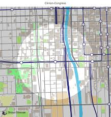 Map Of Cta Chicago by Map Of Building Projects Properties And Businesses Near The