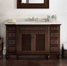 Restoration Hardware Bathroom Vanity by British Cane Traditional Bathroom Vanities