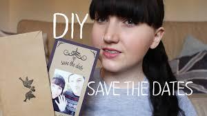 Diy Save The Dates Diy Save The Dates Vintage Loving Bride Youtube