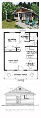1 room cabin plans narrow lot house plan 99971 total living area 598 sq ft 1