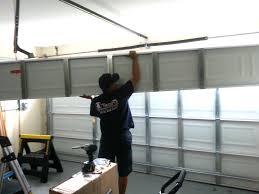Garage Door Assembly by Garage Door Installation Diy