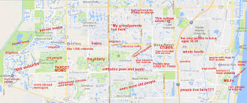 Lsu Map The Judgmental Map Of Boca Raton Floridathe Black Sheep