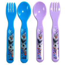 4pc disney princess childrens utensil set bpa free