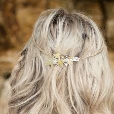 hair barrette hair barrette gold or silver by stephanieverafter