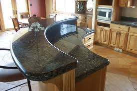 raised kitchen island bonita springs florida granite countertops