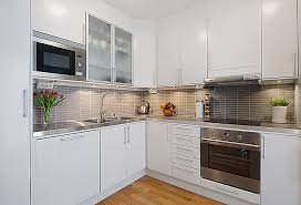 small kitchen ideas white cabinets the value of small kitchens with white cabinets my home design