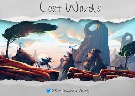 lost words lostwordsgame twitter