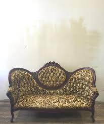 Velvet Settee Sofas Furniture Antique Loveseat Antique Settee Bench High Back