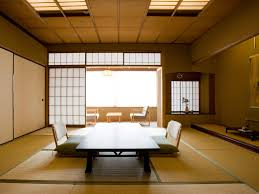 living room design japanese style mounted table at the corner of