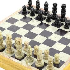 Unique Chess Pieces Buy Rajasthan Stone Art Unique Chess Sets And Board Size 12 X 12