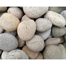 Pebble Rugs Butler Arts 1 In To 2 In Buff Mexican Beach Pebble 500 Lb Mini