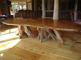 Rustic Table And Chairs Rustic Dining Table Diy Gloss Mahogany Table Combined Design