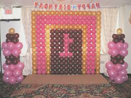 view background decoration for birthday party at home interior