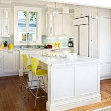 White Cabinets With Grey Quartz Countertops Kitchen White Kitchen Island Quartz Countertop Yellow Side Chair