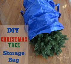 how to make a tree storage bag the stonybrook house