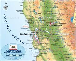 map of usa states san francisco san francisco map